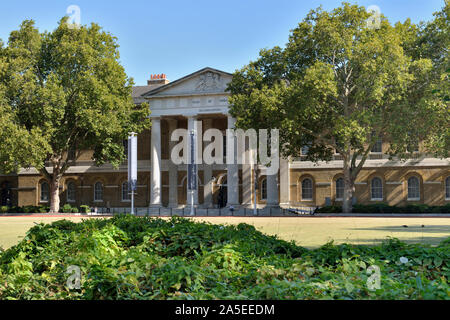 The Saatchi Gallery, Duke of York's Headquarters, King's Road, Chelsea, West London, United Kingdom - Stock Photo