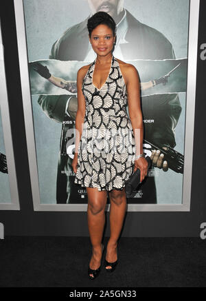 LOS ANGELES, CA. October 15, 2012: Kimberly Elise at the Los Angeles premiere of 'Alex Cross' at the Cinerama Dome, Hollywood. © 2012 Paul Smith / Featureflash - Stock Photo