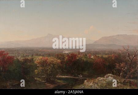 An October Day in the White Mountains, 1854. John Frederick Kensett (American, 1816-1872).jpg - 2A5JANA - Stock Photo