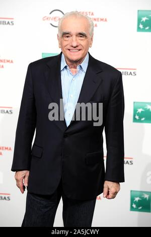 Rome, Italy. 21st Oct, 2019. Rome Cinema Fest 2019. Rome Film Festival. Martin Scorsese Photocall. Pictured: Martin Scorsese Credit: Independent Photo Agency/Alamy Live News - Stock Photo