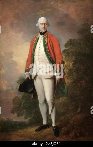 Portrait of George Pitt, First Lord Rivers, c. 1768-1769. Thomas Gainsborough (British, 1727-1788).jpg - 2A5JG64 - Stock Photo