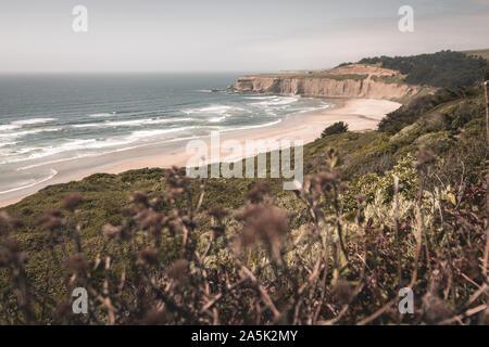 Coastline in California - Stock Photo