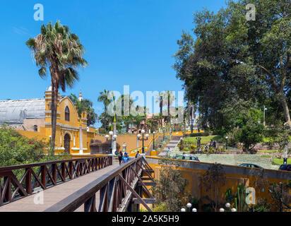 Puente de los Suspiros in the Barranco district, Lima, Peru, South America