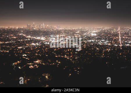 Los Angeles Skyline - Stock Photo