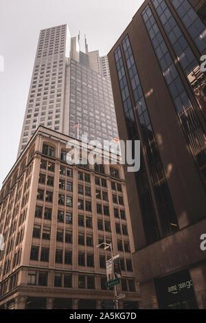 Skyscrapers in San Francisco - Stock Photo