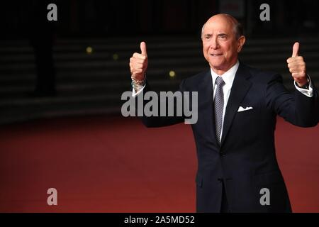 Rome, Italy. 21st Oct, 2019. Rome Cinema Fest 2019. Rome Film Festival. Red carpet film The Irishman. Pictured: Lewis Eisenberg, US ambassador to Italy with his wife Judith Credit: Independent Photo Agency/Alamy Live News - Stock Photo