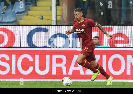 Aleksandar Kolarov (Roma) during Sampdoria vs AS Roma, Genova, Italy, 20 Oct 2019, Soccer Italian Soccer Serie A Men Championship - Stock Photo