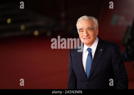 Rome, Italy. 21st Oct, 2019. Martin Scorsese attends the 'The Irishman' red carpet during the 14th Rome Film Festival. (Photo by Gennaro Leonardi/Pacific Press) Credit: Pacific Press Agency/Alamy Live News - Stock Photo