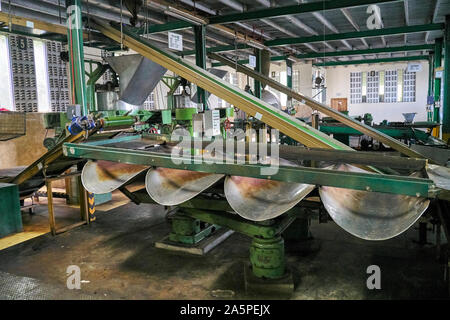 Tea factory near Kandy in Ceylon/Sri Lanka - Stock Photo