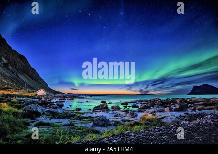 Flakstad island, Lofoten islands