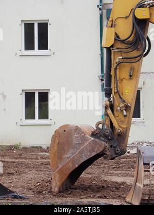 Baustelle in Regensdorf ZH - Stock Photo