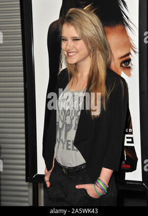 LOS ANGELES, CA. February 21, 2012: Taylor Spreitler at the Los Angeles premiere of 'Gone' at the Arclight Theatre, Hollywood. © 2012 Paul Smith / Featureflash - Stock Photo