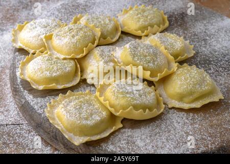 Ravioli Pasta - Stock Photo