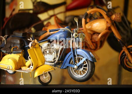 Motorcycle models collection - Stock Photo