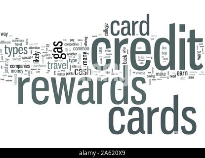 Rewards Credit Cards And You - Stock Photo