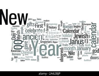 New Year Trivia Quiz - Stock Photo