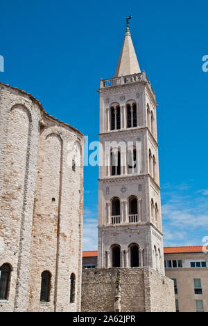 Church of St Donatus, a church located in Zadar, Croatia - Stock Photo