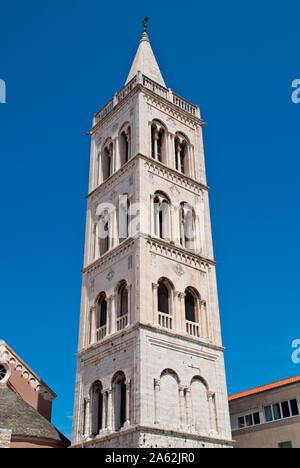 Church of St Donatus, a church located in Zadar, Croatia - Stock Photo