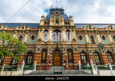 Buenos Aires, Argentina - February 9, 2018: The Water Company Palace building - Stock Photo
