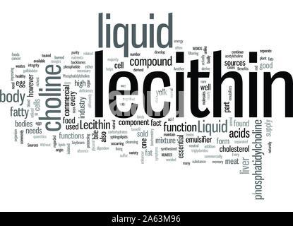 Liquid Lecithin - Stock Photo