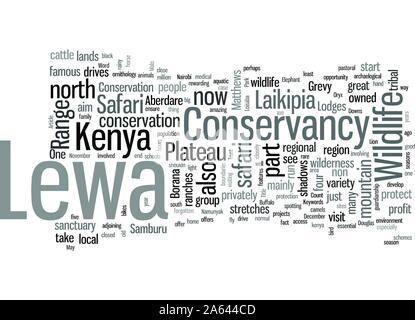 In Kenya Safari To Lewa Conservancy - Stock Photo