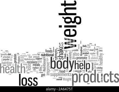 Improve Body Health with Convenient Weight Loss Products - Stock Photo