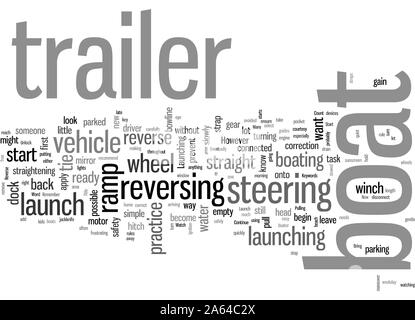 How To Launch Your Boat - Stock Photo