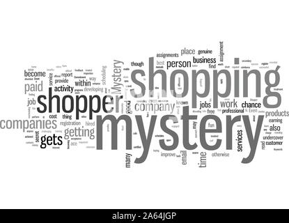 How to Become a Successful Mystery Shopper - Stock Photo