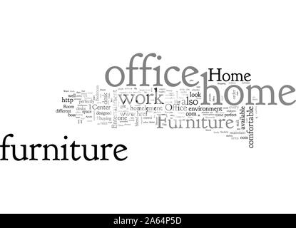 Home Office Furniture - Stock Photo