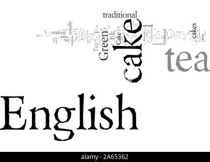 English Tea Cake - Stock Photo