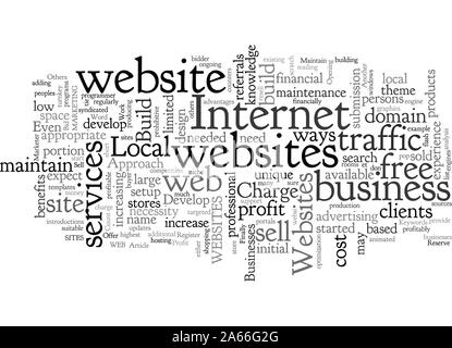 Build And Maintain Websites For Profit - Stock Photo