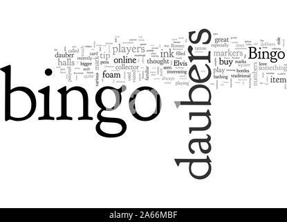 Bingo Daubers - Stock Photo