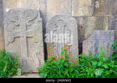 Khachars at Tatev Monastery complex, Tatev, Syunik Province, Armenia