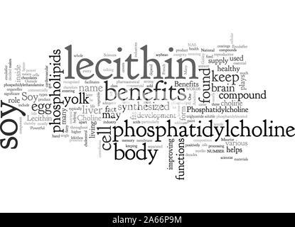 Benefits of Soy Lecithin - Stock Photo