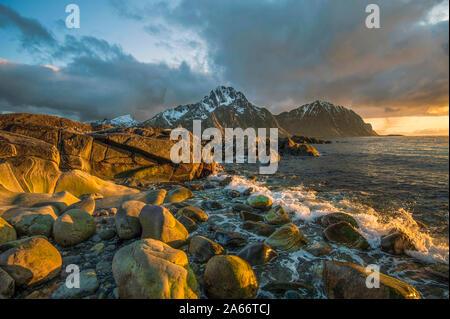 Western Lofoten islands - Stock Photo