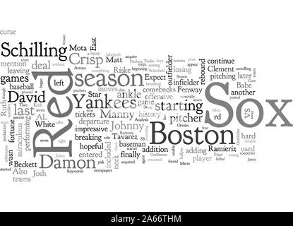 Boston Red Sox Preview - Stock Photo