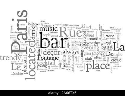 Bars in Paris - Stock Photo