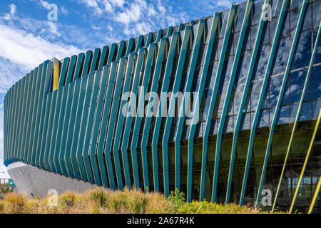 El Centro location of Northeastern Illinois University, designed by JGMA. - Stock Photo