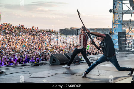 Victorious Festival, Southsea Common, Portsmouth, UK 2019. Credit: Charlie Raven/Alamy - Stock Photo
