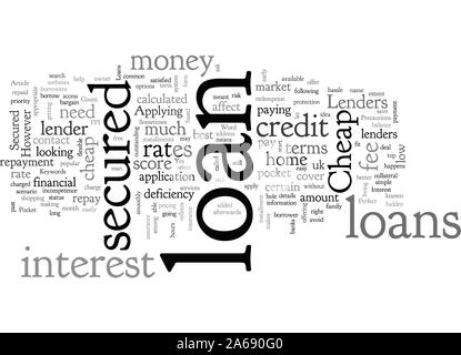 A Perfect Match For Your Pocket Cheap Secured Loans - Stock Photo