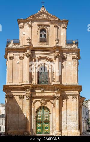 Chiesa di Santa Teresa, Scicli, Sicily - Stock Photo