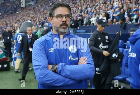 Gelsenkirchen, Deutschland. 26th Oct, 2019. firo: 26.10.2019, Football, Football: 1.Bundesliga, season 2019/2020, FC Schalke 04 - BVB Borussia Dortmund David Wagner | usage worldwide Credit: dpa/Alamy Live News Stock Photo