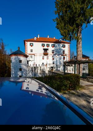 Sneznik castle in Slovenia - Stock Photo
