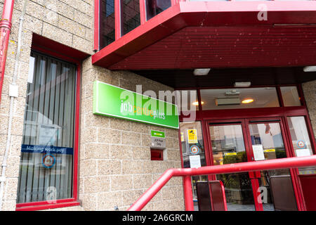 Job centre plus in the highstreet of Penzance, unemployment centre, on the doll - Stock Photo