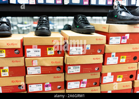 Boys and girls Kickers School shoes