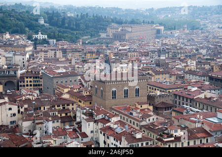 Gothic Chiesa e Museo di Orsanmichele (Church and Museum of Orsanmichele) in Historic Centre of Florence listed World Heritage by UNESCO in Florence, - Stock Photo