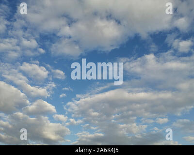 Italy, Casorezzo, clouds - Stock Photo