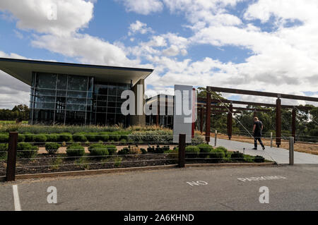 Jacobs Creek visitors centre in the  Barossa Valley  wine growing region near Adelaide, Australia. - Stock Photo