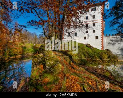 Sneznik castle in Slovenia - Stock Photo
