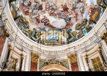 Valencia Spain Hispanic,Ciutat Vella,old city,historic center,Plaza del Palau archbishop palace square,Basilica de la Virgen de los Desamparados,Our L